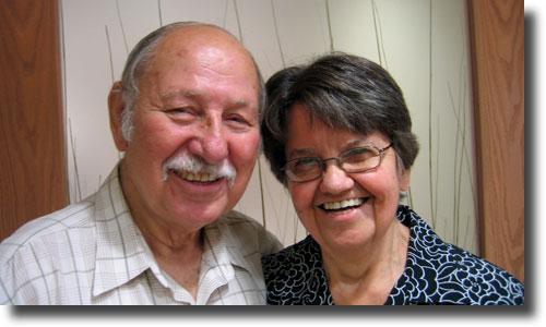 Ezra and Elizabeth Bell Stoltzfus
